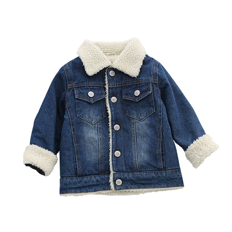 Spring little boys baby clothes kids plus velvet cowboy jacket short outerwear for baby boy children clothing thick jacket coats 2 14t baby boy clothes boys jacket leather spring letter boys outwear for children kids coats for boys baseball sweatershirt