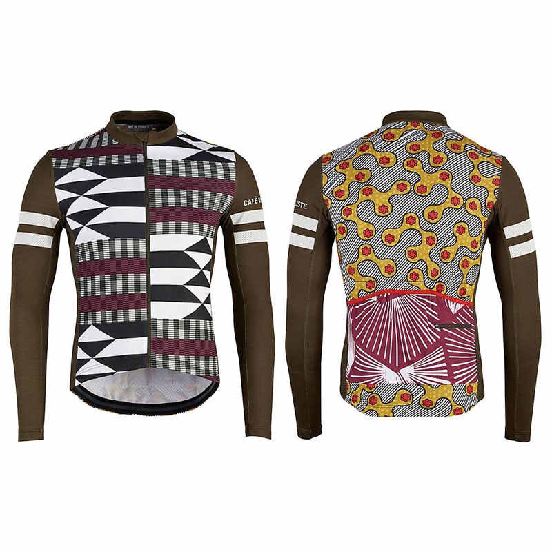 52eab6a2a cafe du cycliste cycling jacket pro team 2019 winter thermal fleece warm custom  clothing jersey bike