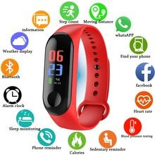 hot deal buy wishdoit smart watches mens women hd 0.96tft touch screen clock men waterproof sport  fitness information reminder smart watch