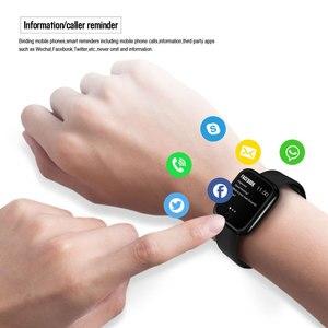 Image 4 - 2019 Men Women Waterproof T80 Smart Watch Bluetooth Smartwatch Heart Rate Monitor Fitness Tracker pk P70 P68 Plus P80 B57