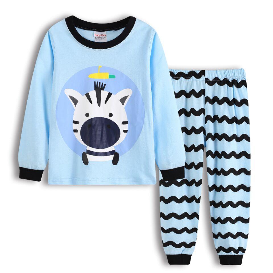 NEW 2018 boys nightwear girls family christmas pajamas cartoon kids pajama sets children sleepwear toddler baby pyjamas 2t-7t d0