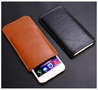 Do Samsung Galaxy S10 S10 Plus A90 5G S10e A80 A70 A60 A50 NOTE10 super cienki skóra z mikrofibry z długim rękawem saszetka pokrowiec obudowa przypadku na