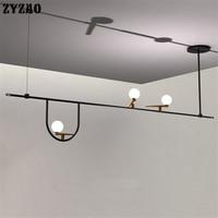 Danish Designer Minimalist Creative Iron Art Bird Lamp Pendant Lights Restaurant Living Dining Room Creative Glass Pendant Lamps