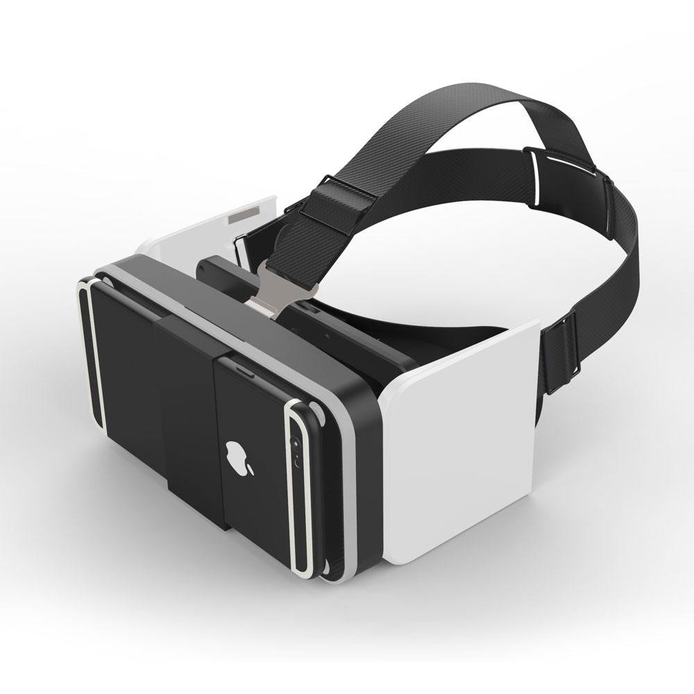Virtual Reality 3D Glasses Google Cardboard HeadMount New Foldable VR For Android IOS 4.7-6.0 inch Smartphone