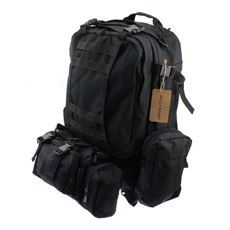Outdoor Bags Multifunction Military Tactical Backpack Camping Hiking Climbing Cycling Bag цена