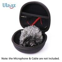 Практичный жесткий защитный чехол для камера с микрофоном ro микрофон, AriMic EVA жесткий Дорожный Чехол, сумка для переноски для камера с микроф...