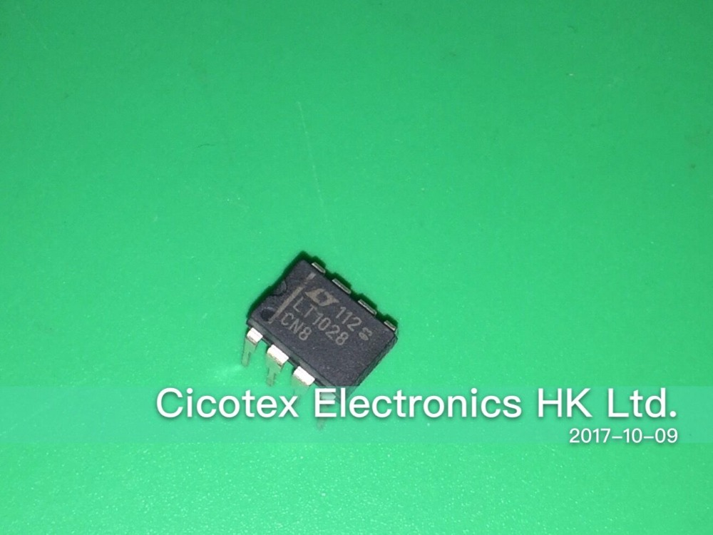 5pcs/lot LT1028CN8#PBF DIP-8 <font><b>IC</b></font> OPAMP GP 75MHZ 8DIP image