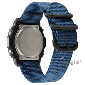 16mm Nylon Replacement Watch Band Strap for Casio G Shock DW5600 GW-5000 5035 GW-M5610 DW6900 DW8700 DW6200 DW5300(China)