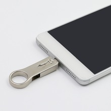 Mini Metal OTG Flash Drive For Mobile Device