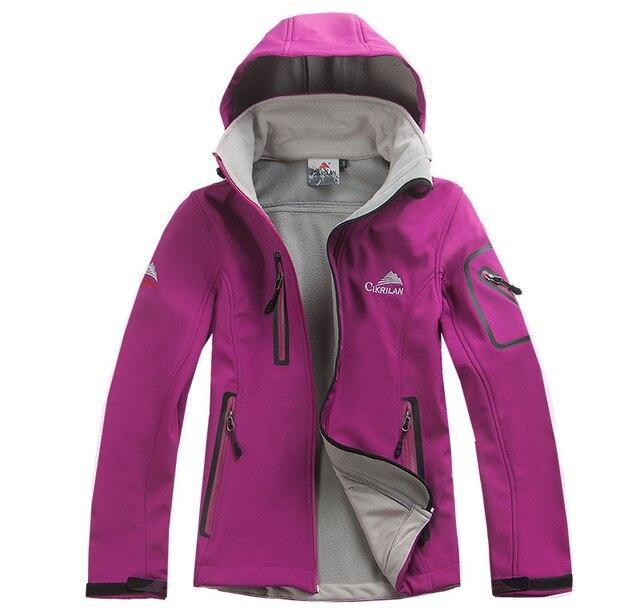 cb76e34f13 ... wholesale dealer f9508 4aa0a Women Female Outdoor Waterproof Climbing Skiing  Jacket Windbreaker Warm Breathable Windproof Sports ...