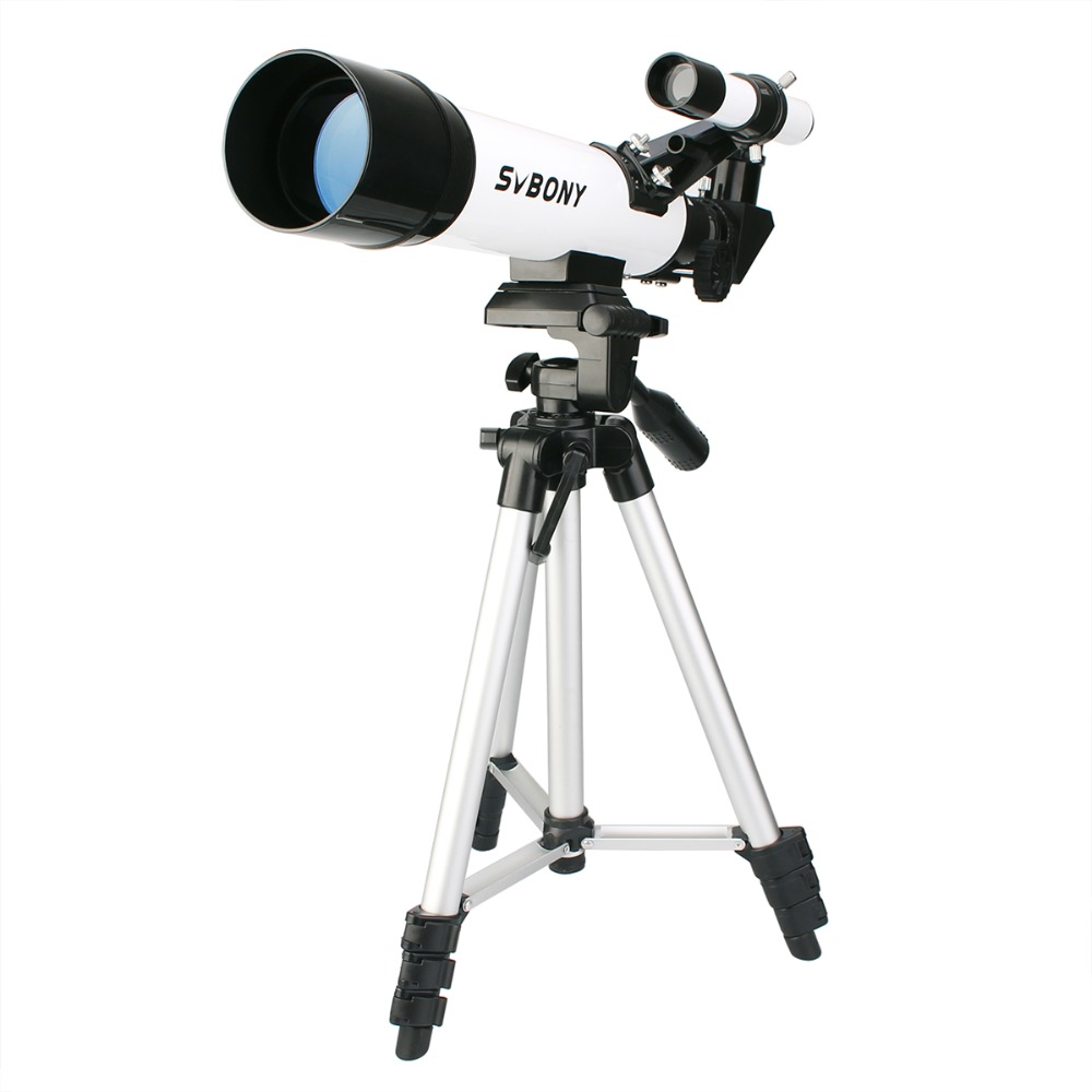 SVBONY SV25 Astronomy Telescope 60/420mm Refractor for Beginner School with Cell Phone Mount Adapter Professional F9304 plastep sv25