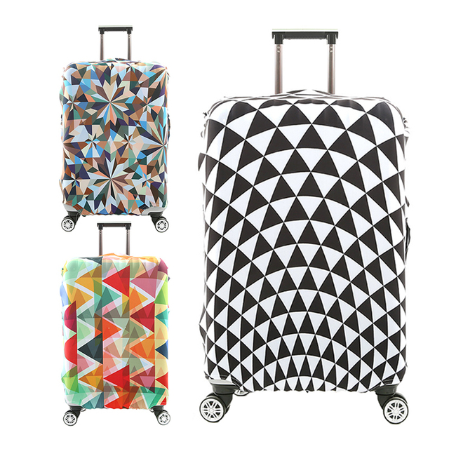 Diverse styles Travel accessories Luggage cover case for a suitcase protection dust cover Stretch fabrics organizers handbag