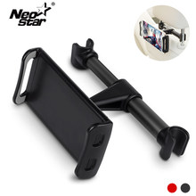 Tablet Car Holder For iPad 2 3 4 Air 2 3 4 For Nintend Switch 360 Degree Rotation Adjustable Back Seat Stand For iPhone 6 7 8 X(China)