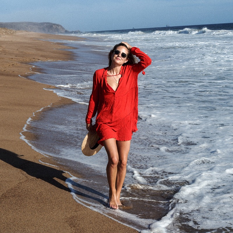 Beach Cover up White Rayon Swimwear Tunics Kaftan Beach Dress Beachwear Cover ups Women Robe de Plage Saida de Praia in Cover Ups from Sports Entertainment