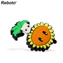 Pendrive Sunflower 4GB 8GB 16GB 32GB 64GB USB 2.0 USB Flash Drive Memory Stick