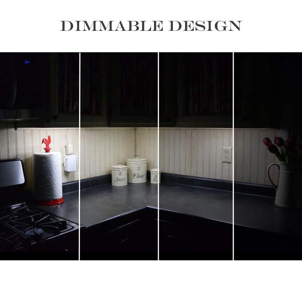 Dimmbare LED Küche Unter Kabinett Starren Streifen Licht 3x0,3 mt/0 ...