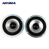 2pcs 3 Inch 4 Ohm 8W Full Range Speakers Circular Magnetic Computer Audio Multimedia Speaker Small