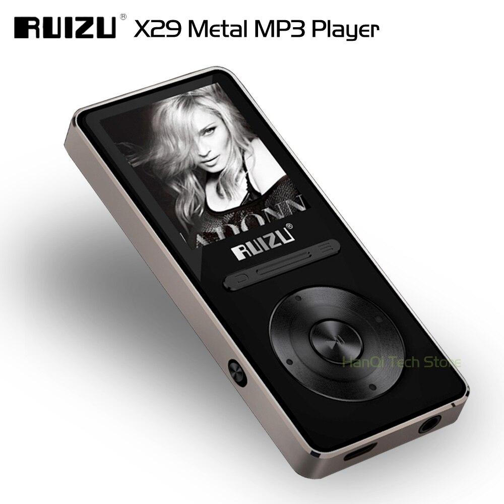 Neue Kommen Aluminium Legierung Ultradünne Original Ruizu X29 8 Gb Mp3 Player Mit 1,8 Zoll Bildschirm Spielen 30 Stunden Mit Fm Unterstützung E-book Unterhaltungselektronik Tragbares Audio & Video