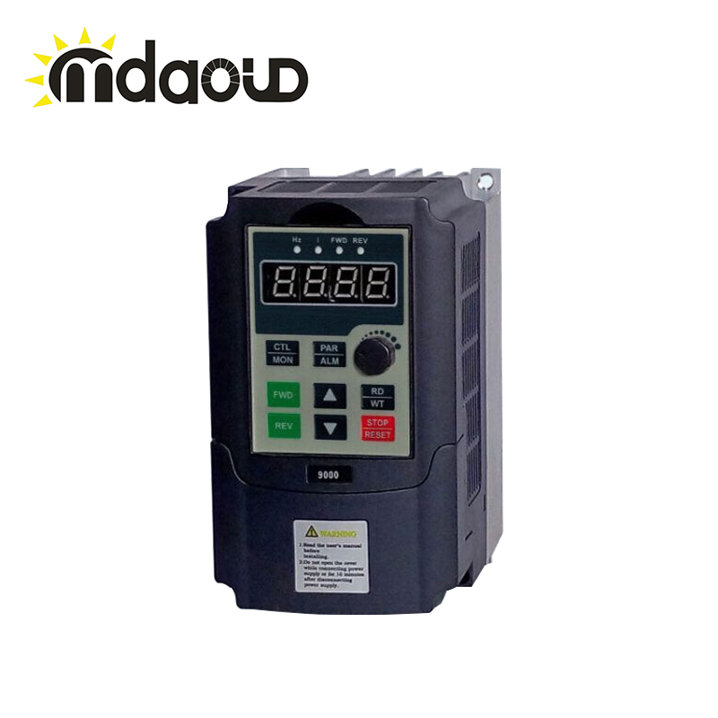 Frequency Drive VFD Inverter 440v 3 phase Input 3 phase Output 440V 2.5A 750W Frequency inverter delta ac motor drive inverter vfd007c43a vfd c2000 series 1hp 3 phase 380v 750w new