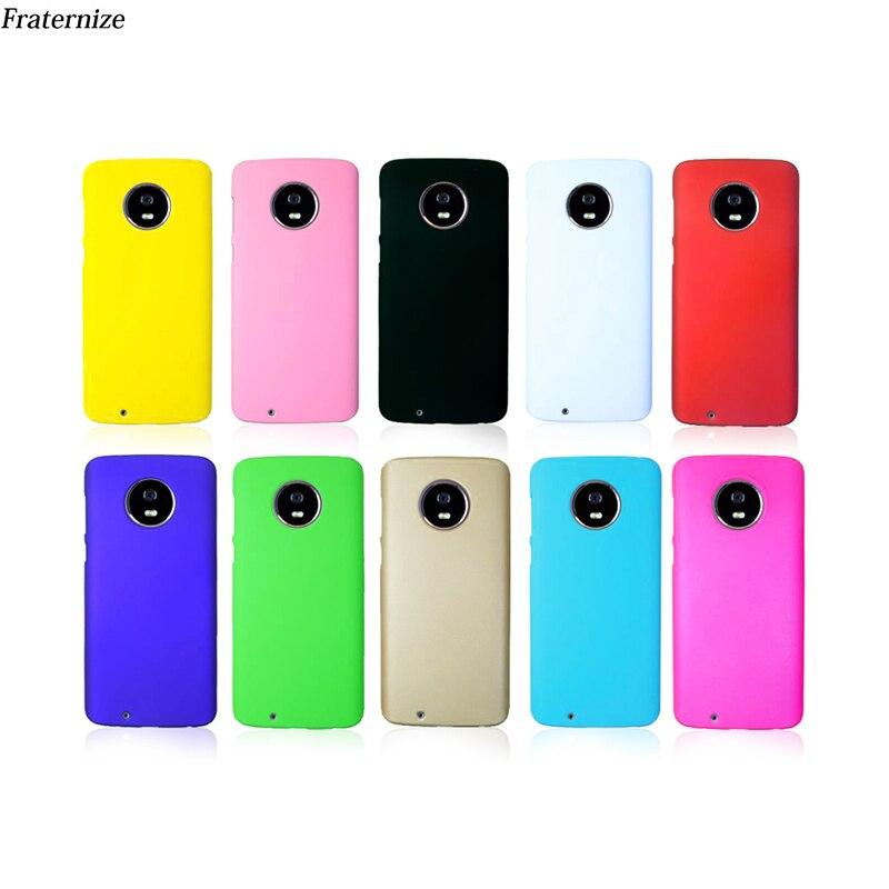 Phone case for Motorola Moto G6 G5 G5S E4 E5 C Z2 Plus Matte Skin Hard Back Cover For Moto Z2 Z3 G4 X Play X4 G2 G3 X3 M E G X+1