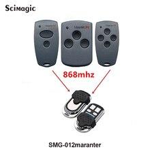 Marantec Digital dois botões 868 mhz porta da garagem & gate controle remoto keyfob frete grátis