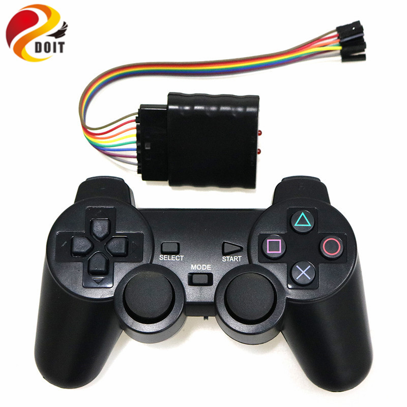 2.4G Wireless game gamepad joystick for PS2 controller with wireless receiver playstatio ...