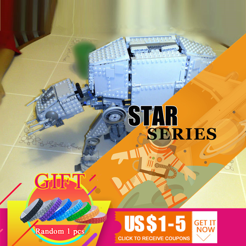 05050 1137pcs Star Classic Series Wars AT Model AT the robot war set Building blocks Compatible with 10178 toys Gift lepin [jkela]499pcs new star wars at dp building blocks toys gift rebels animated tv series compatible with legoingly starwars page 6