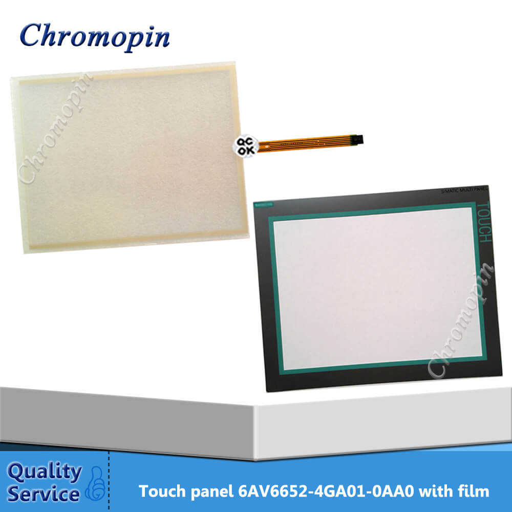 6AG1644-0AB01-4AX0 Touch Panel 6AG1 644-0AB01-4AX0 Touch Screen Glass with Overlay for MP377 15 Inch Touch HMI