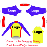 DIY Long Cycling Clothing Make Your Own Design Customize Cycling Jersey Long Sleeve Contact Me For