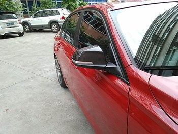 Auto-Styling Specchietto Laterale In Fibra Di Carbonio Rearreview Tappi Di Copertura Per BMW 1Serie E87 F20 F30 F35 2011UP