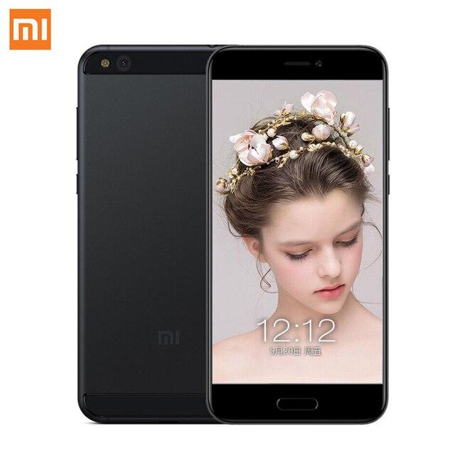 "Newest Original Xiaomi Mi5c Mi 5C Cellphone Fast Charge Pinecone S1 Octa Core 3GB RAM 64GB ROM 5.15"" 1080P 12.0MP Fingerprint ID"