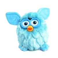 New 2015 Electronic Robotic Toys Phoebe Electric Pets Owl Hamster Plush Recording Talking Child Gift 17cm