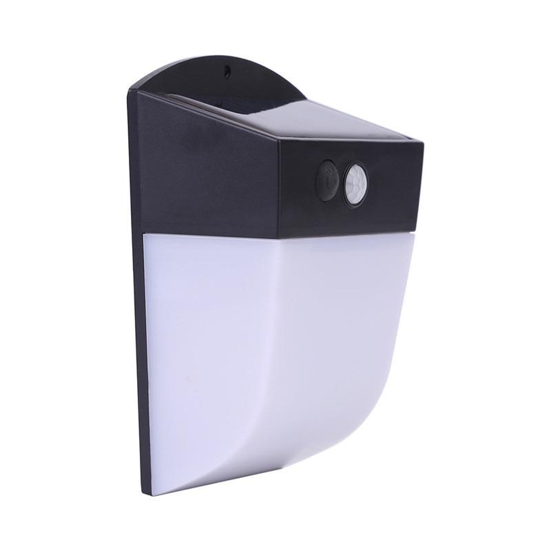 Solar Power Led Wall Light PIR Motion Sensor Outdoor Solar Light For Street Garden Security Wall Lamp With 18650 Lithium Battery