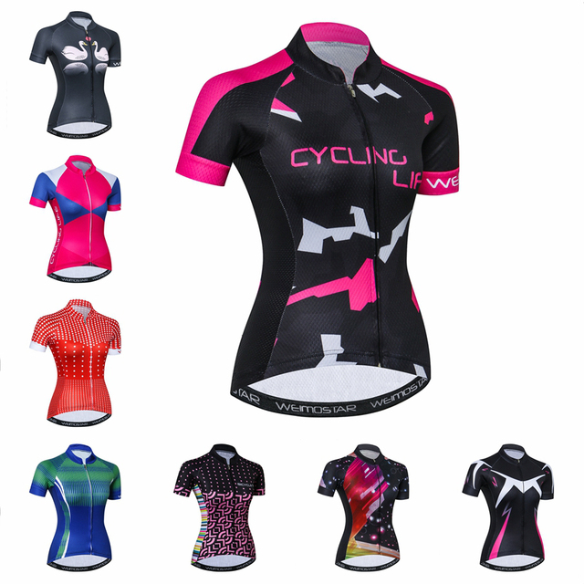 Cycling Jersey Women Bike Top Shirt Summer Short Sleeve MTB 2018 Cycling  Clothing Ropa Maillot Ciclismo Racing Bicycle Clothes 48b77c071