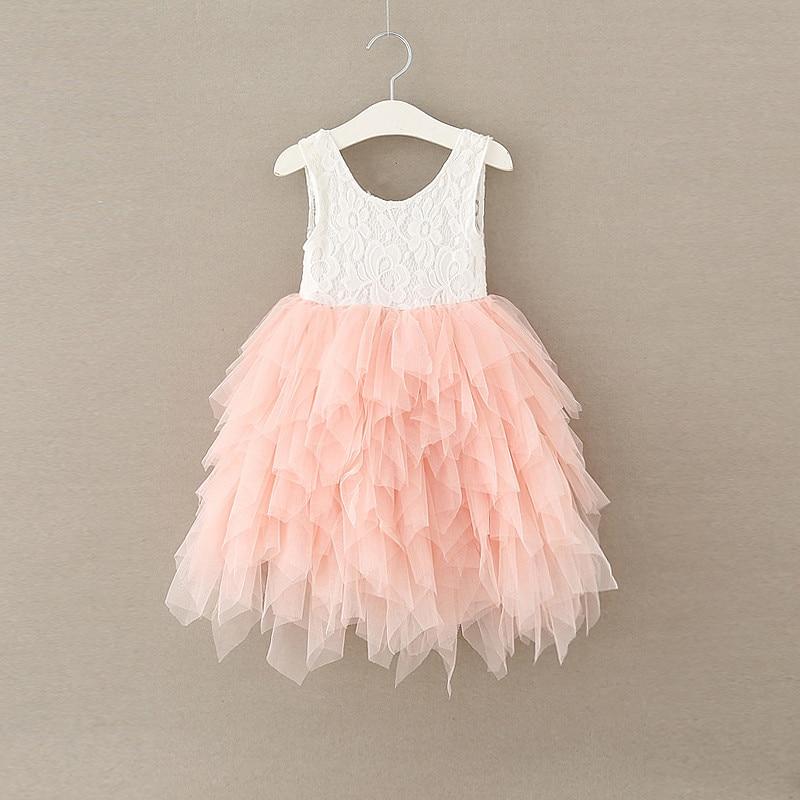 Retail ! NEW 2017 Girls lace princess TUTU dress , kids dresses for girls , girl dresses , toddler girl dresses retail new arrival100