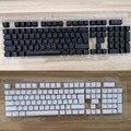 104 ключа  русская полупрозрачная клавиатура с подсветкой для вишневого выключателя MX