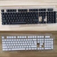 104 keycaps 체리 mx 키보드 스위치 용 러시아어 반투명 백라이트 키 캡
