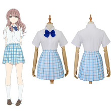 A Silent Voice Shouko Nishimiya Shoko Cosplay Costume Unifor