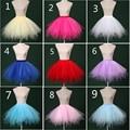Nupcial Do Casamento Petticoat para Vestidos de Casamento do vintage Livre Curto Organza Halloween Anágua Crinolina Underskirt Rockabilly Tutu