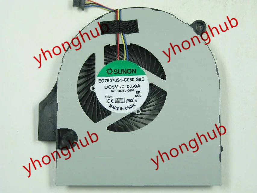 SUNON EG75070S1-C060-S9C Server Laptop Fan DC 5V 0.50A