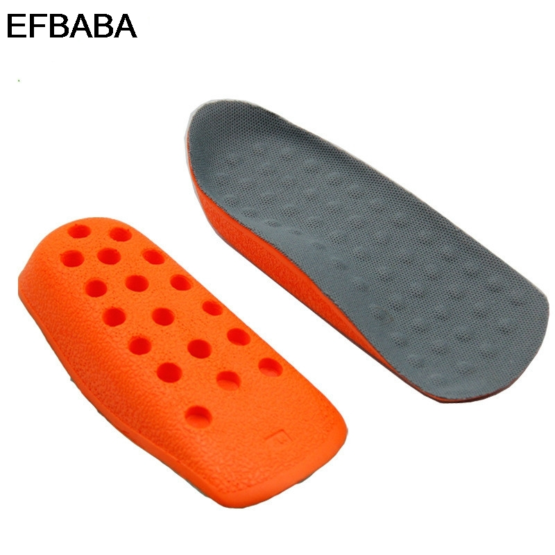 EFBABA Increased Insoles Foot Arch Support Breathable Damping Insoles Men Women Shoes Pad Heel Inserts Accessoire Chaussure
