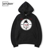 Men Eminem Machine Gun Kelly Diss pista Killshot sudaderas con capucha  sudaderas Unisex Hip Hop MGK Sudaderas con capucha ropa 11e63e90894