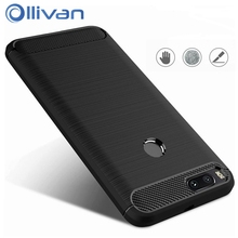Фотография OLLIVAN For Xiaomi Mi 5X Case Mi5x Cover Case Brushed TPU Silicon Soft Phone Cover for Xiaomi MI5 X M5X M 5X Case 5.5 Anti Knock