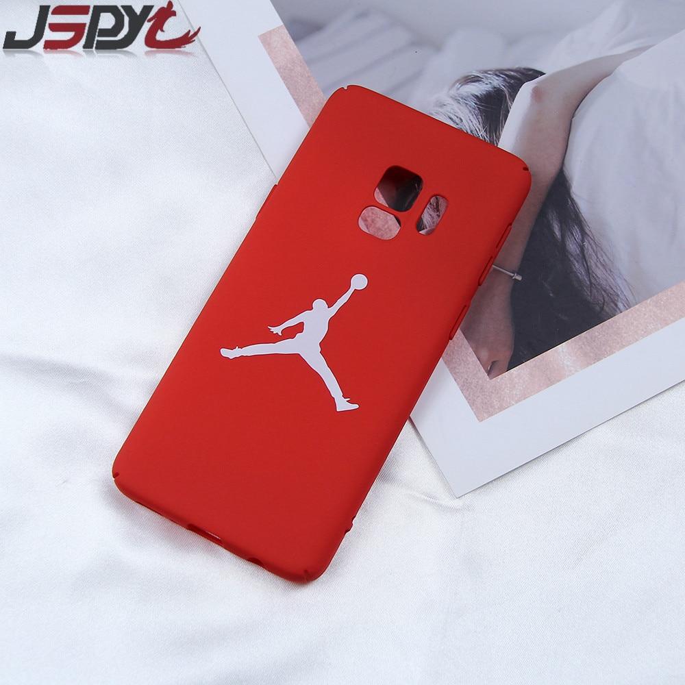 JSPYL Fashion Jordan Phone Case For Samsung Galaxy S9 Plus Coque ...