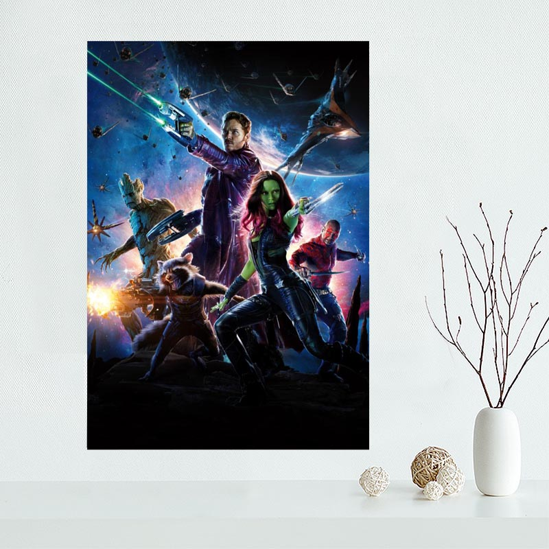 New arrival Guardians of the Galaxy Canvas Poster Hot Sale Custom Canvas Painting Poster print cloth fabric wall art poster