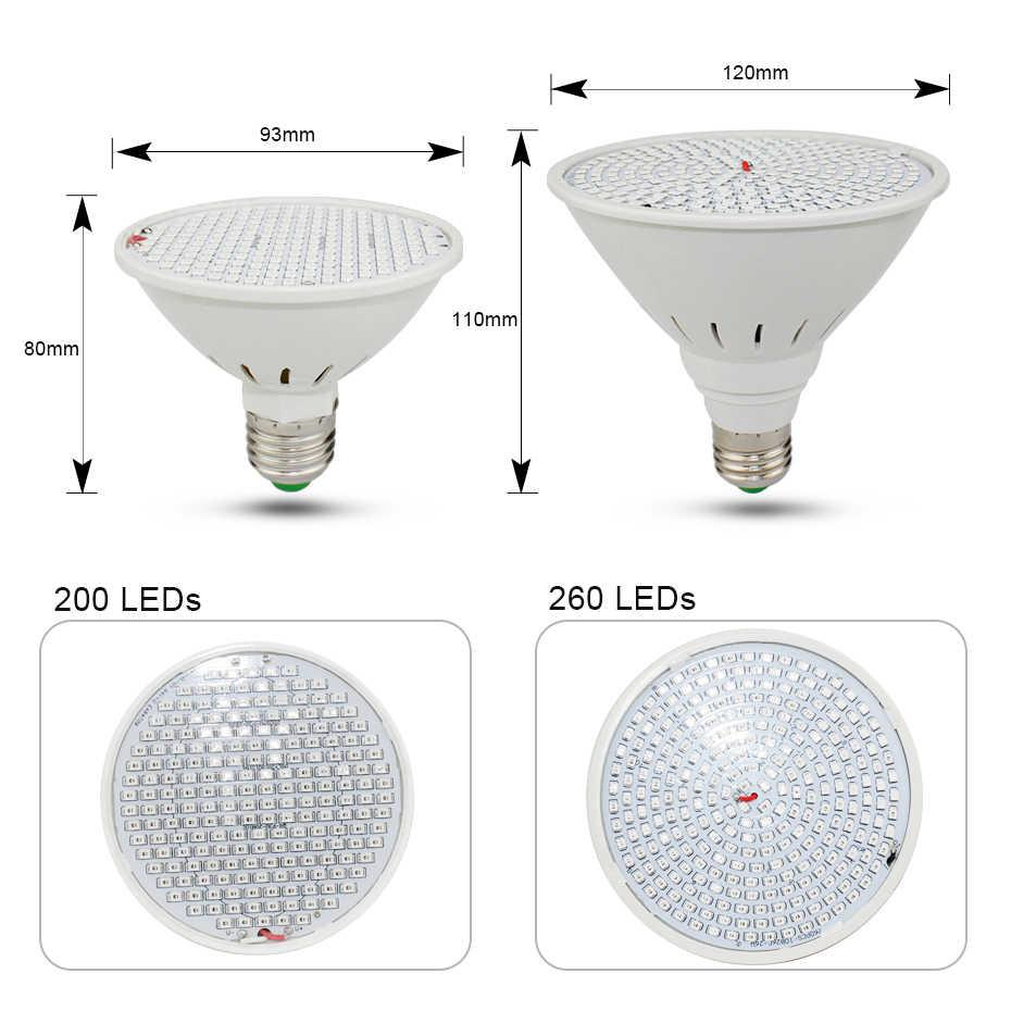 E27 Spettro Completo HA CONDOTTO LA Lampada Per Le Piante AC85-265V Pianta PRINCIPALE Coltiva La Luce Piantine Phyto Lampada 60 126 200 260 Led piante Phytolamp