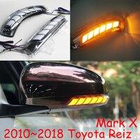 Car styling for Toyota Reiz mirror light Mark X 2010~2018y,Prius (XW30),Reiz LED DRL daytime light 2009~2015 Wish mirror light