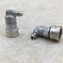Beer Home  Stainless Steel Thread Liquid and Gas Connector Ball Lock Disconnect for Barware Replacement brewing