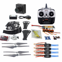 DIY RC Drone Quadrocopter ARF X4M360L Frame Kit QQ Super Flight Controller T8FB 8CH TX RX F14892 G+Camera