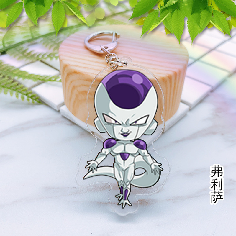 Japan Anime Dragon Ball Z Torankusu Acrylic Key Ring Pendant Keychain Gift